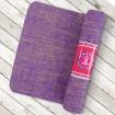 Esterilla de yute violeta - Yogi & Yogini