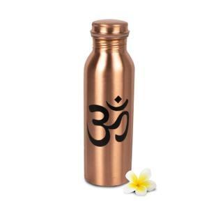 Botella de cobre para agua, con tapón de rosca - OM  28,70 €